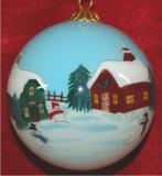 Best of Friends From Our Home to Yours Christmas Personalized Ornament Personalized by Russell Rhodes
