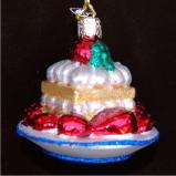 Strawberry Shortcake Christmas Ornament Personalized by Russell Rhodes