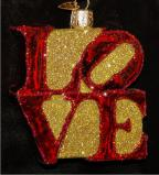 Loved for Life Christmas Ornament Personalized by Russell Rhodes