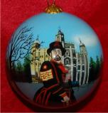 Where Horrible Bosses Belong Christmas Ornament Personalized by Russell Rhodes