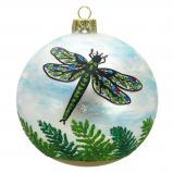 Dragonflies Christmas Ornament Symbol of Growing Wisdom Personalized by Russell Rhodes