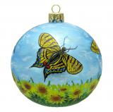 Butterflies Christmas Ornament Beauty in Nature Personalized by Russell Rhodes