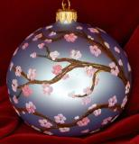Spring in Japan Christmas Ornament Personalized by Russell Rhodes