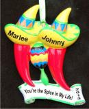 You're the Spice in My Life! Christmas Ornament Personalized by Russell Rhodes