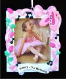 Dance Recital Frame Christmas Ornament Personalized by Russell Rhodes