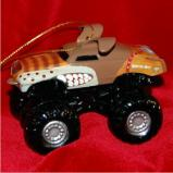 Monster Mutt Monster Jam Truck Christmas Ornament Personalized by Russell Rhodes