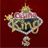 Casino King Christmas Ornament Personalized by Russell Rhodes