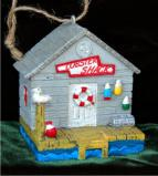 Lobster Shack Christmas Ornament Personalized by Russell Rhodes