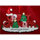 Great Grandpa Christmas Ornament Personalized by Russell Rhodes