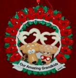 Grandparents Christmas Ornament up to 15 Grandkids Personalized FREE by Russell Rhodes