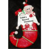 Elf Christmas Ornament Personalized by Russell Rhodes