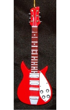 White Pick Guard Red Electric Guitar