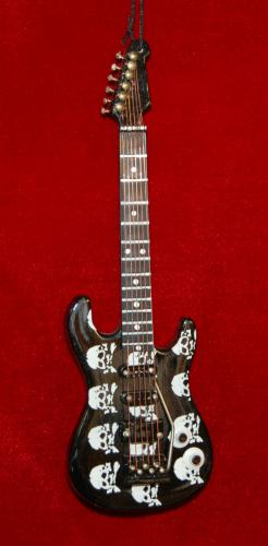 Rock N Roll Skulls Guitar