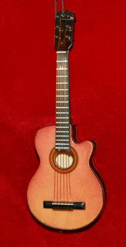 Acoustic Guitar Hand Crafted Wood