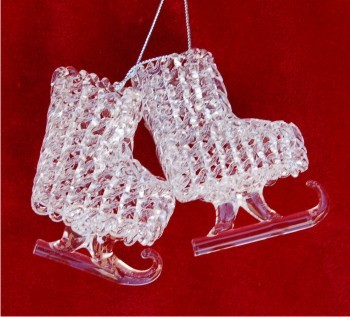Spun Glass Ice Skates