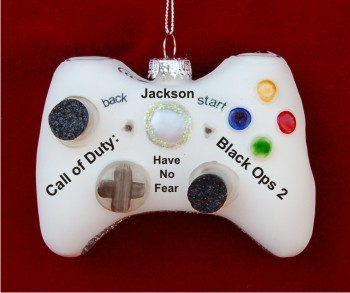 White X-Box Game Controller