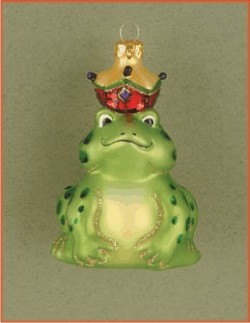 The Frog Prince, Glass