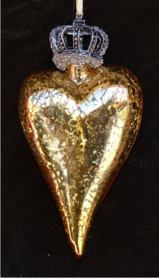 Crowned Heart Gold Reflections