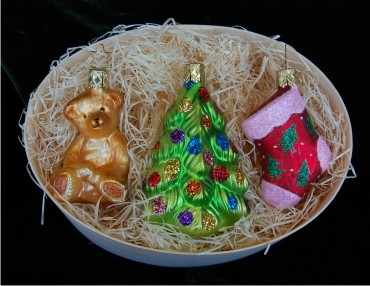 My Baby's First Christmas Ornament Set