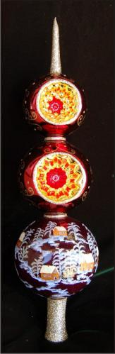 Red Russian Finial
