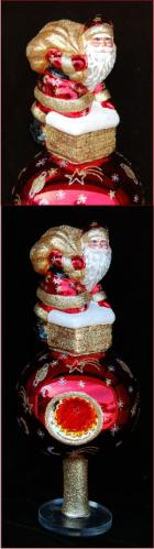 Santa's Coming Celebration Finial