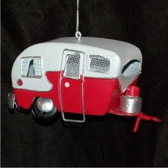 Old-Fashioned Tin Camper