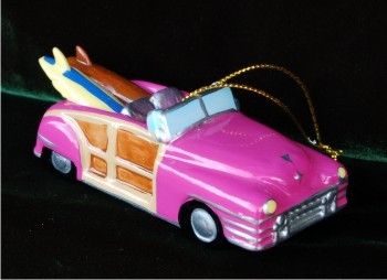 Surfing Woody Wagon Pink