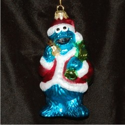 Cookie Monster Glass