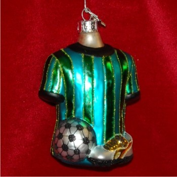 Soccer Gear Glass