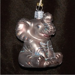Baby Elephant Glass