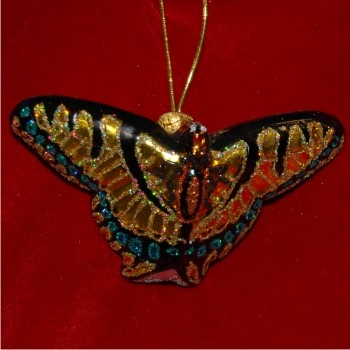 Swallowtail Butterfly Glass