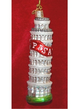 Leaning Tower of Pisa Glass