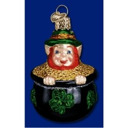 Leprechaun's Treasure Irish Glass