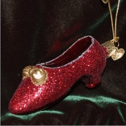 Ruby Red Slippers Glass