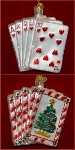 Poker: Royal Flush Glass