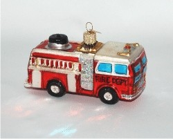 Fire Truck Glass