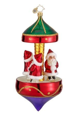 Santa Carousel for Kids