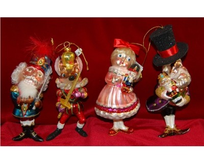 Nutcracker Suite, 4 pieces, Glass