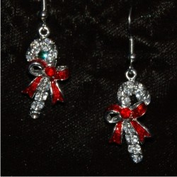 Christmas Earrings - Candy Cane