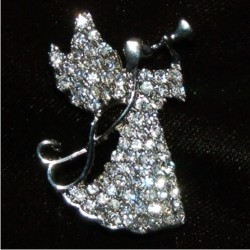 Christmas Pin - Glorious Angel