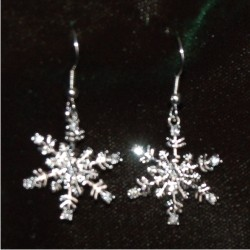 Christmas Earrings - Snowflake