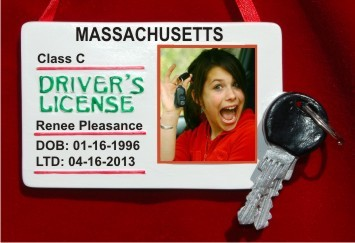 New Driver's License Frame