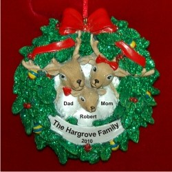 Reindeer Wreath for 3