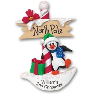 Petey Penguin's North Pole Winter Welcome