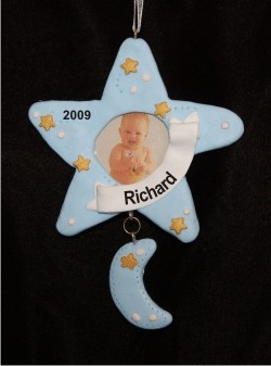 Star Frame Baby Blue