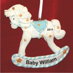 Sweet Baby Rocking Horse Blue