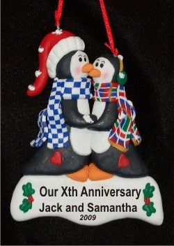 Kissing Penguins Anniversary