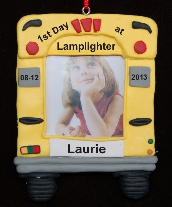 Bus Picture Frame