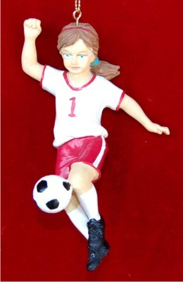 Young Soccer Player Female