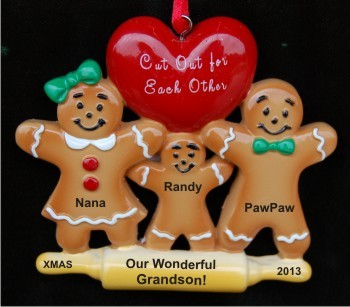 Made for Each Other - Grandparents with Grandson